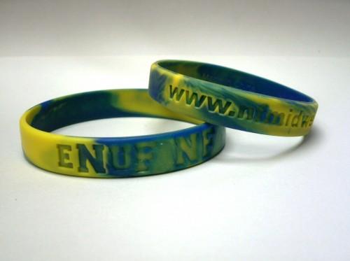 eNuF NF Wristbands